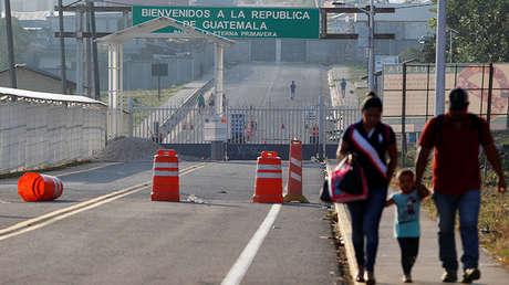 La frontera entre México y Guatemala
