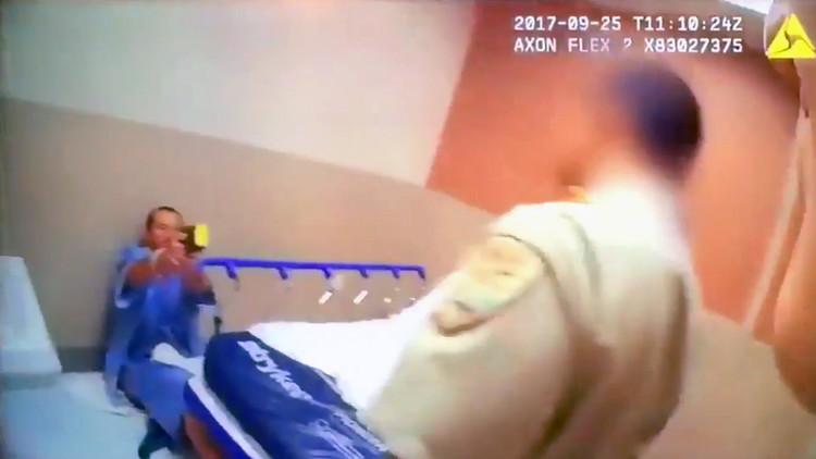 Un policía mata a un hombre en un hospital de Las Vegas (IMPACTANTE VIDEO)