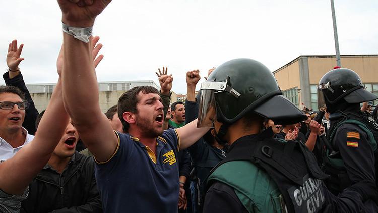 La Generalidad de Cataluña eleva a 337 el número de heridos durante el referéndum