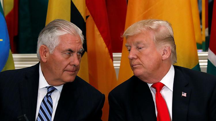 """""""Ahorra tu energía, Rex"""": Trump afirma que el diálogo con Pionyang es una pérdida de tiempo"""