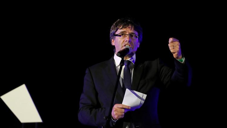 """Puigdemont: """"El Estado español ha escrito una página vergonzosa en su relación con Cataluña"""""""