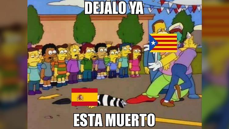 Los memes más creativos que dejó el referéndum catalán