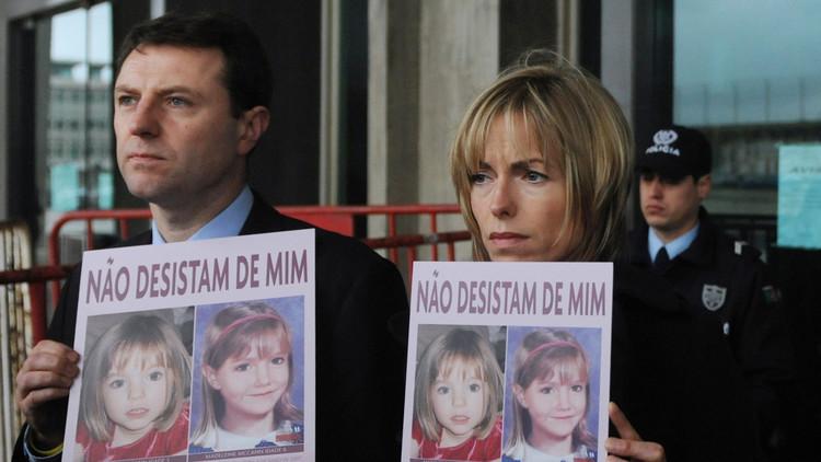"""Buscan a una """"persona de interés"""" en la desaparición de Madeleine McCann"""