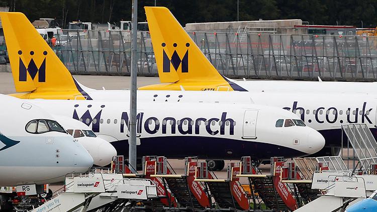 Monarch Airlines suspende sus vuelos mientras más de 100.000 clientes están en el extranjero