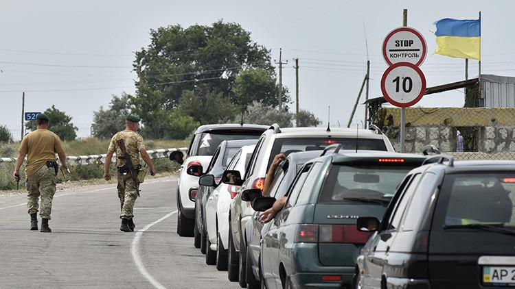 Un hombre se inmola mientras trataba de cruzar ilegalmente la frontera entre Rusia y Ucrania