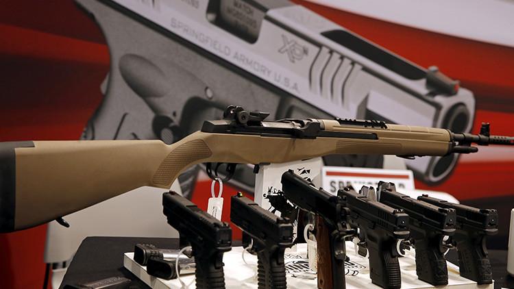 Suben las acciones de las compañías de armas de EE.UU. tras la masacre en Las Vegas