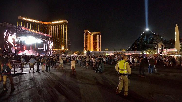 VIDEO: Pánico masivo tras el tiroteo en Las Vegas