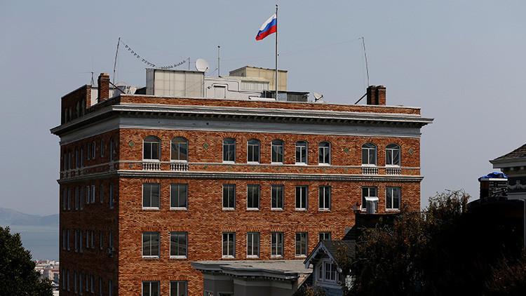 """""""Un acto sin precedentes"""": EE.UU. 'ocupa' la propiedad diplomática de Rusia en San Francisco"""