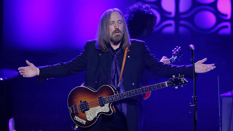 Muere a los 66 años el músico estadounidense Tom Petty