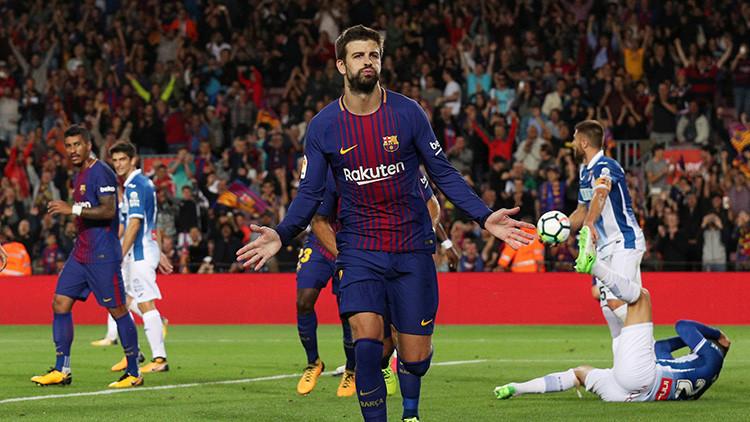 """""""Piqué, cabr*n, fuera de la selección"""": tribunas insultan al futbolista en un entrenamiento (VIDEO)"""