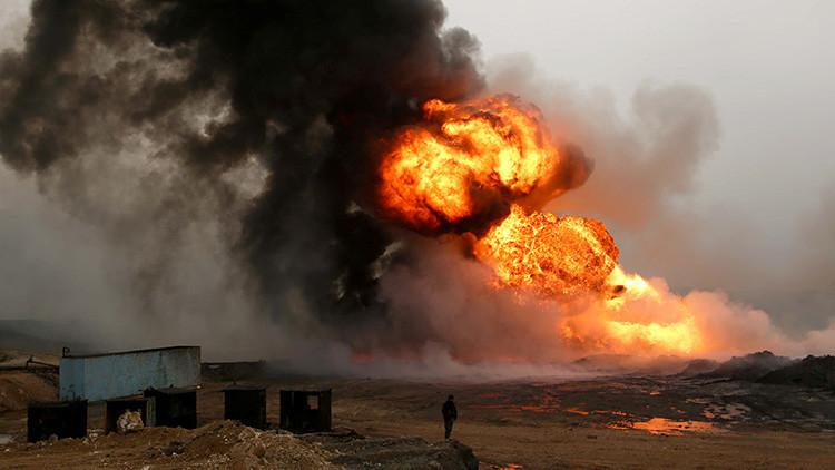 El Estado Islámico pierde un 90% de sus ganancias petroleras