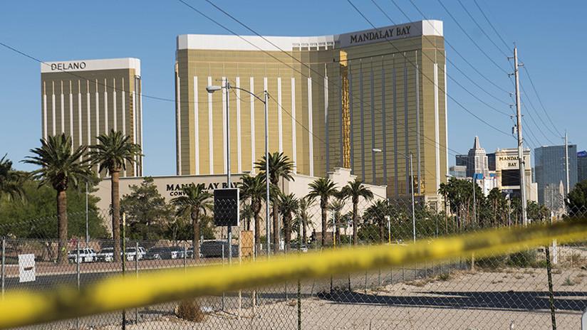 Publican el primer video desde la habitación de hotel del tirador de Las Vegas