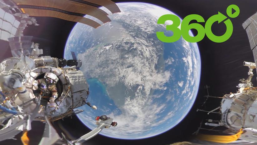 Hasta el infinito y más allá: RT le muestra el primer video en 360º grabado en espacio abierto