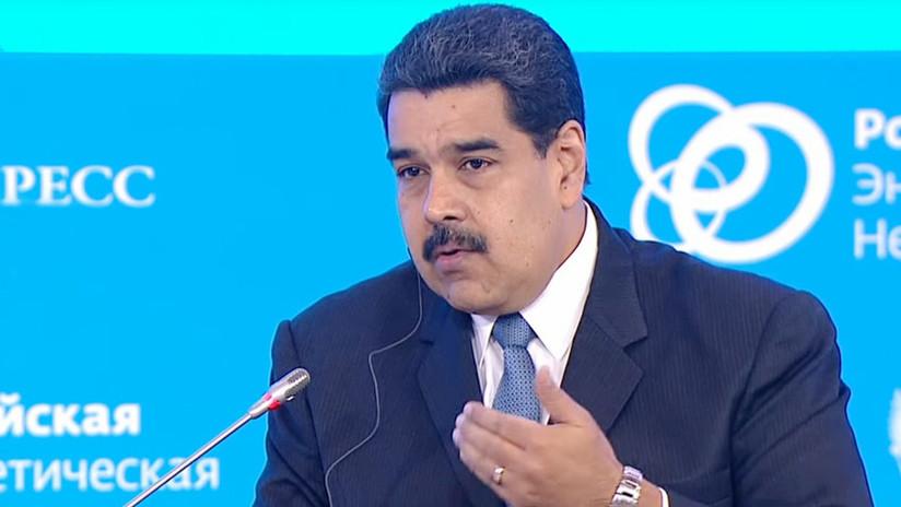 """Maduro: """"Hemos tomado las medidas para proteger a nuestro país"""" de las sanciones de EE.UU."""