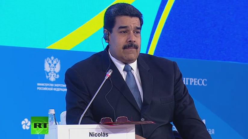 Maduro propone a los países productores de petróleo crear una canasta de monedas