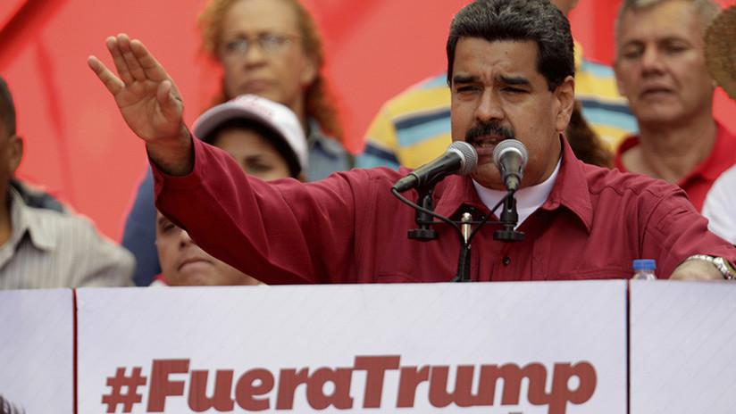 """Maduro: Trump """"no sabe dónde queda Venezuela"""" y cree que """"Simón Bolívar es un cantante rock"""""""