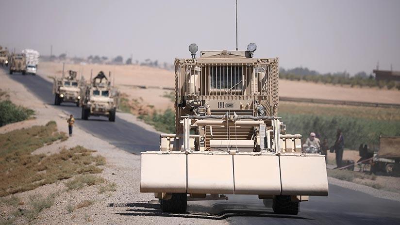 Rusia: La zona de la misión militar de EE.UU. es fuente de ataques del EI a las fuerzas sirias
