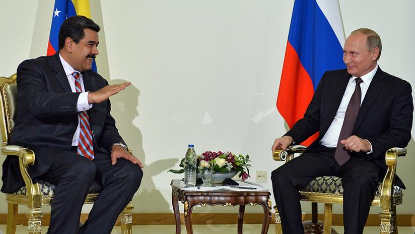 """Putin: Venezuela """"atraviesa tiempos difíciles"""", pero Maduro dialoga con sus opositores"""
