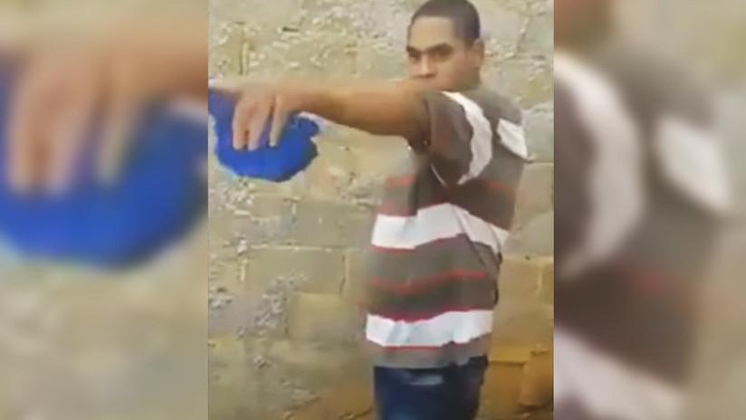 FUERTE VIDEO: Una joven graba su propio asesinato tras discutir con su vecino
