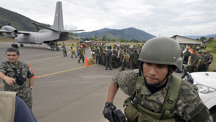 Video: un avión militar se accidenta en una comandancia policial en Perú