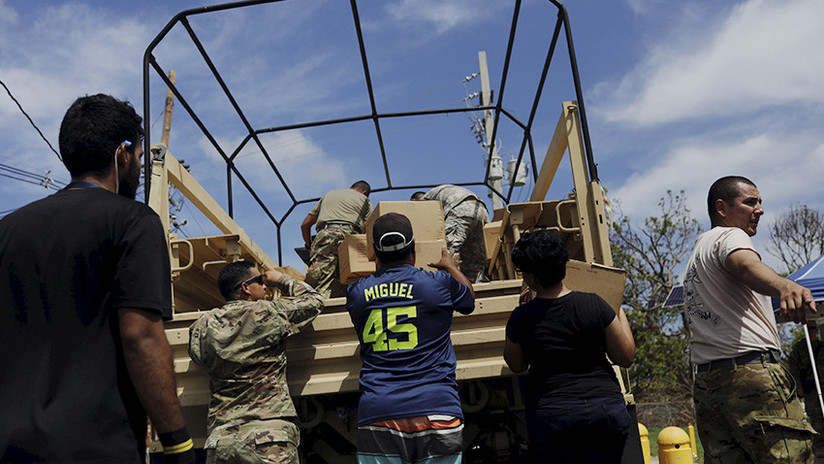 México enviará ayuda a Puerto Rico tras el paso del huracán María