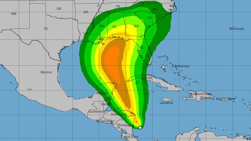 Una nueva tormenta tropical se forma frente a la costa de Centroamérica