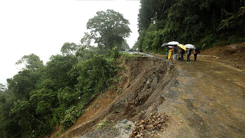 Costa Rica: El Gobierno declara la emergencia nacional por la tormenta tropical Nate