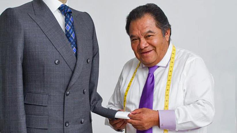 El sastre indígena que confecciona la ropa de los poderosos en México