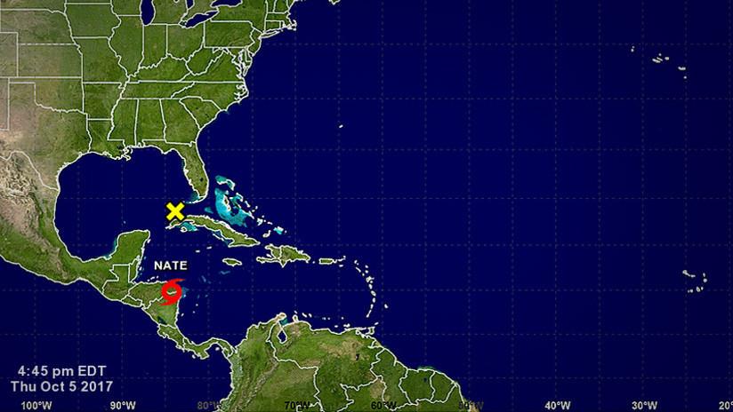 Florida declara estado de emergencia para 29 condados ante la proximidad de la tormenta Nate