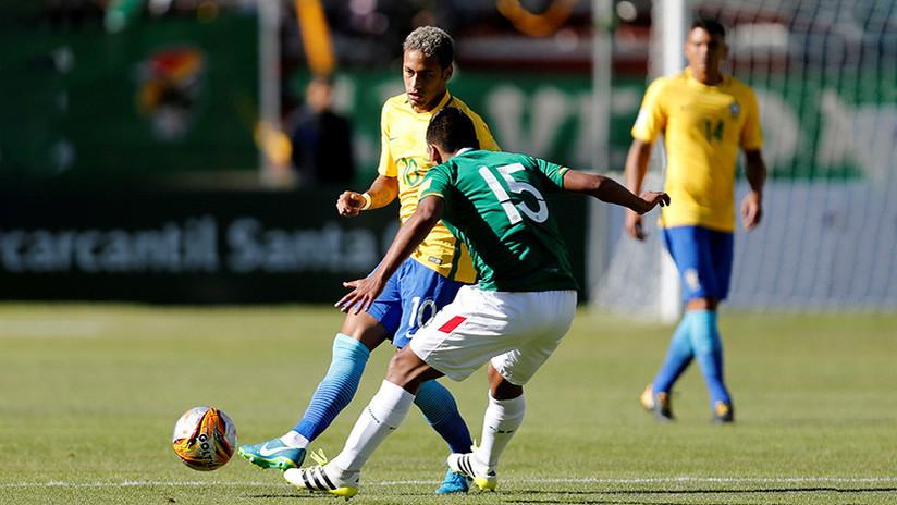 Bolivia y Brasil empatan a cero