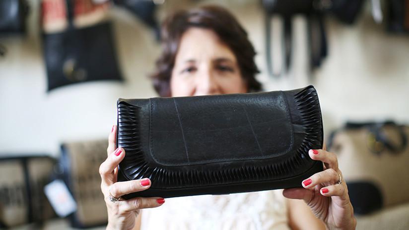 La diseñadora salvadoreña que ha puesto de moda los neumáticos usados