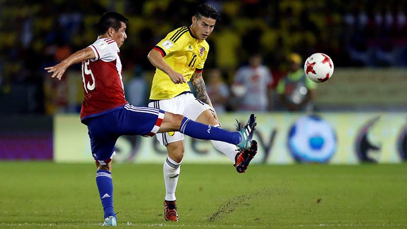 Paraguay vence a Colombia en una remontada épica y sueña con el Mundial
