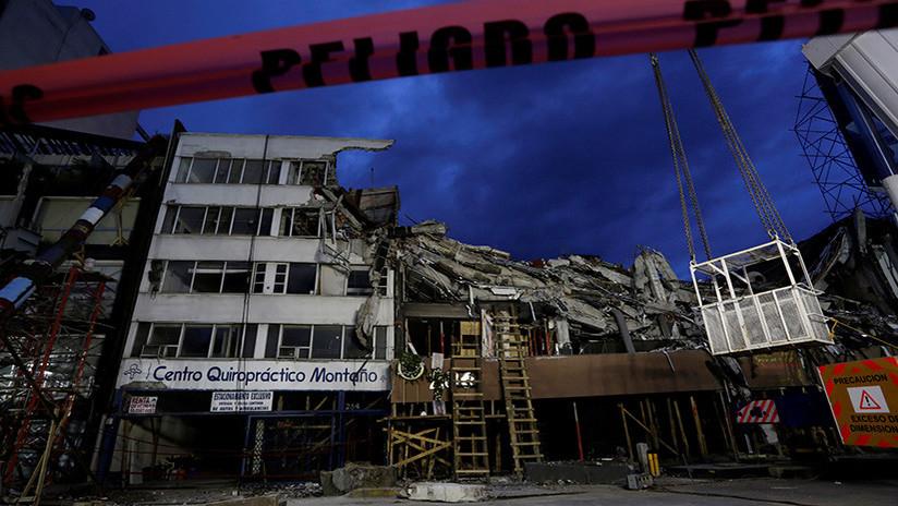 Un millar de edificios de la ciudad de México podrían colapsar tras el terremoto