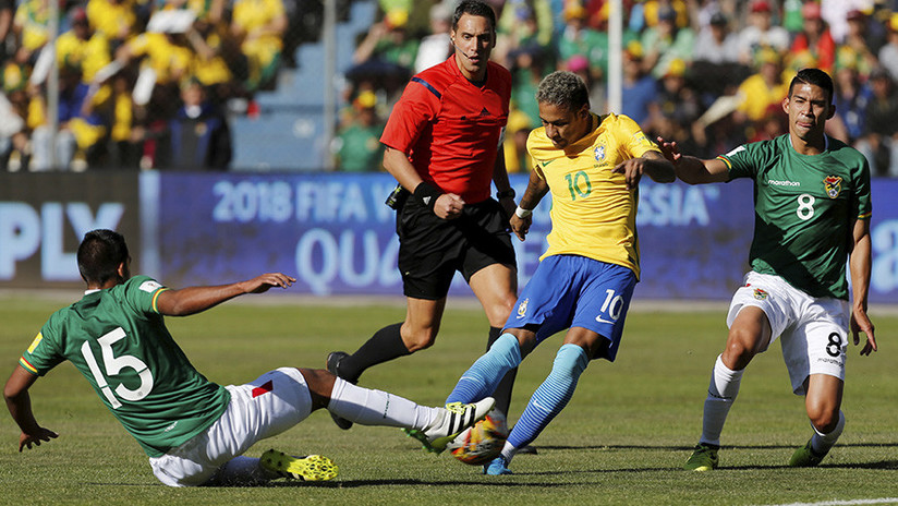 """FOTOS: La selección brasileña se recupera de """"las condiciones inhumanas"""" del partido con Bolivia"""