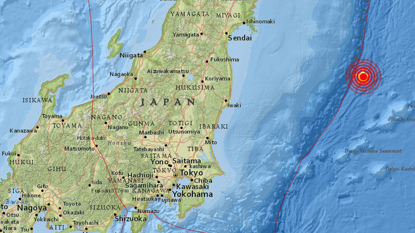 Se registra un sismo de magnitud 6 frente a la costa este de Japón