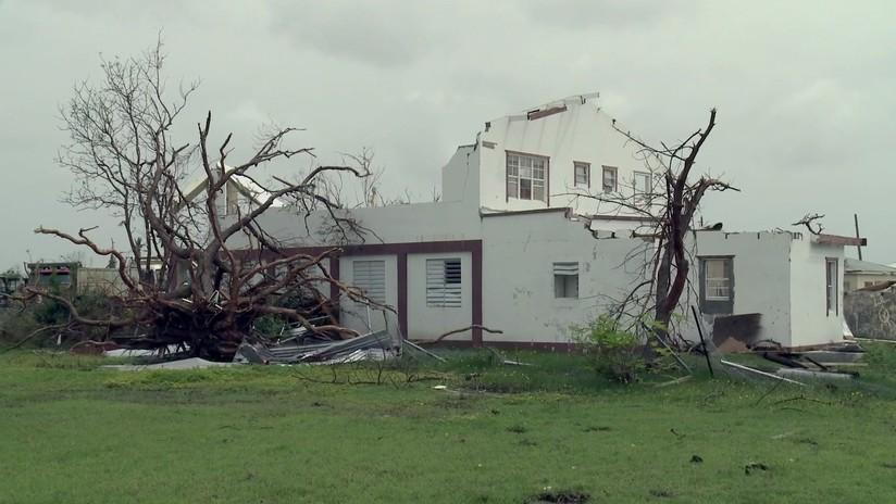RT accede a Barbuda, la 'isla fantasma' azotada por el huracán Irma