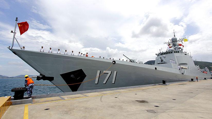 Revelan cómo un nuevo destructor chino supera a los buques de EE.UU.