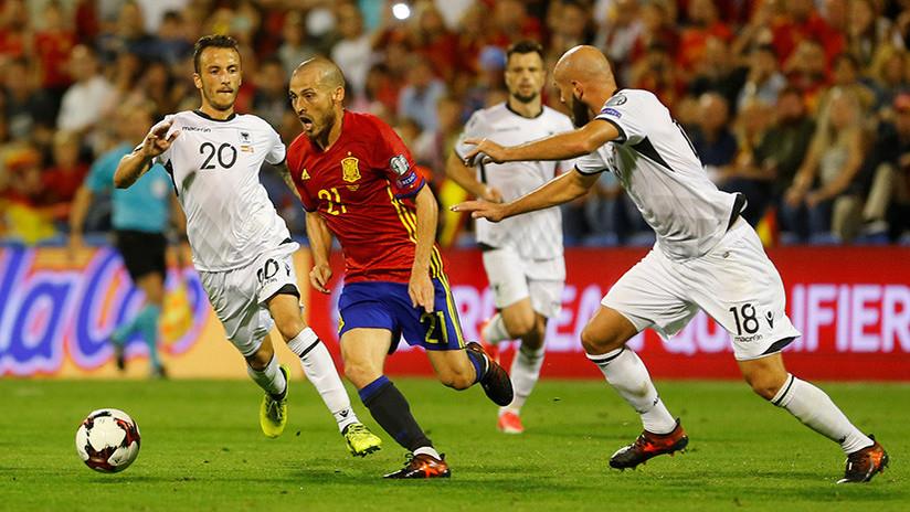 España consigue el billete directo al Mundial de Rusia 2018