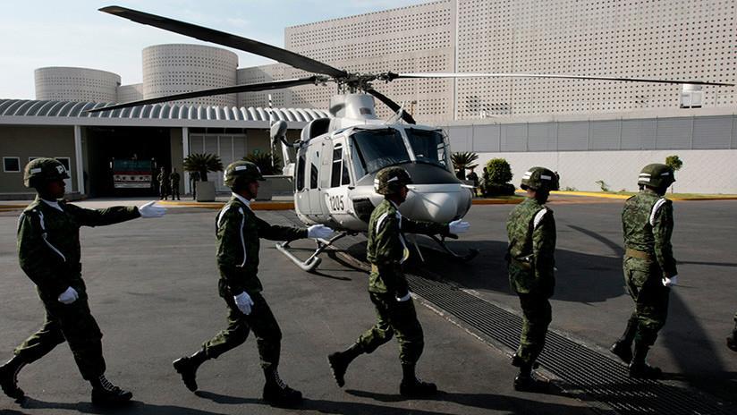 Fuerte imagen: Al menos 7 muertos al estrellarse un helicóptero militar en México