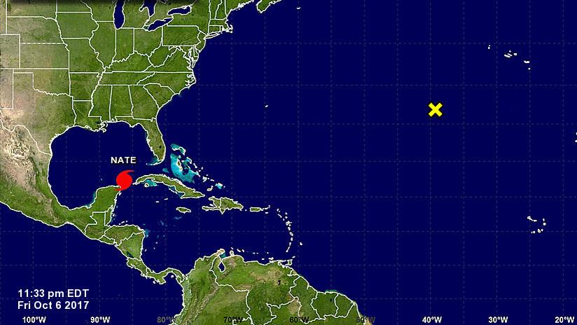 La tormenta Nate se convierte en huracán