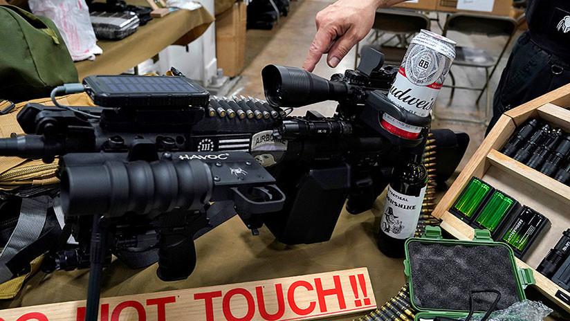 """FOTOS, VIDEO: Festival de armas """"divertidas"""" en EE.UU. unos días después de la masacre de Las Vegas"""