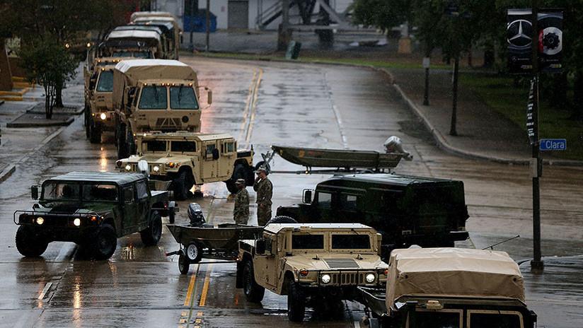 El huracán Nate toca tierra en EE.UU. con vientos devastadores y causando inundaciones a su paso