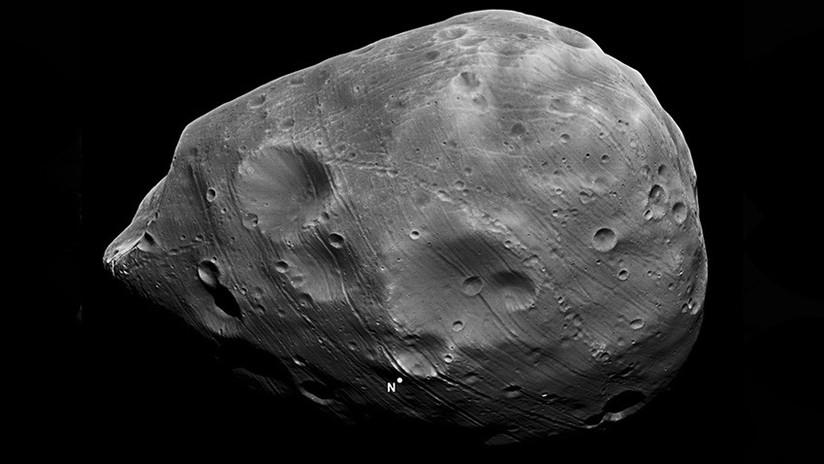 La NASA muestra imágenes únicas del satélite marciano Fobos