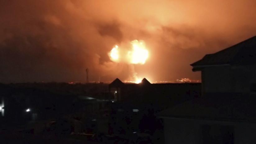 La tremenda explosión de una gasolinera deja varios muertos en Ghana (VIDEO)