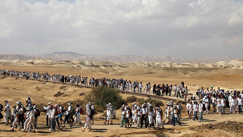 Más de 30.000 mujeres palestinas e israelíes marchan por la paz en Jerusalén