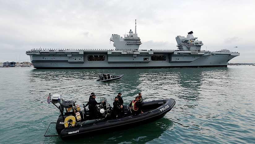 El Reino Unido implementa planes para la guerra contra Corea del Norte