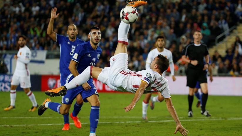 España cierra con una victoria ante Israel su clasificación para el Mundial de Rusia 2018