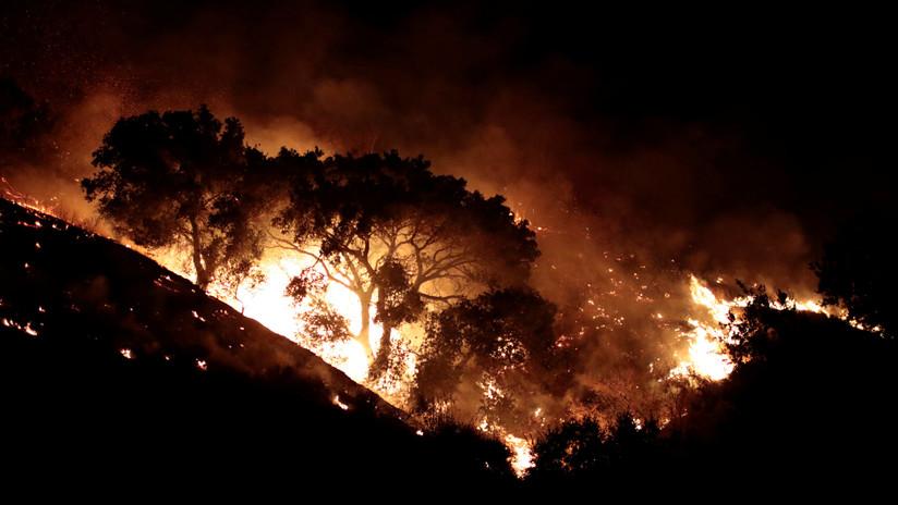 'Armagedón' en el norte de California: incendios voraces arrasan todo a su paso (VIDEO)