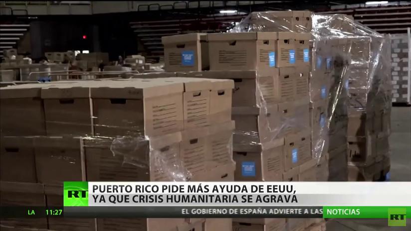 Puerto Rico pide ayuda al Congreso de EE.UU. tras los huracanes Harvey, María e Irma