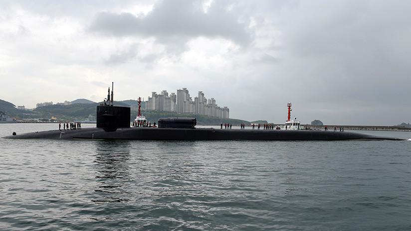 Un submarino nuclear de EE.UU. armado con 154 misiles Tomahawk se dirige a la península coreana
